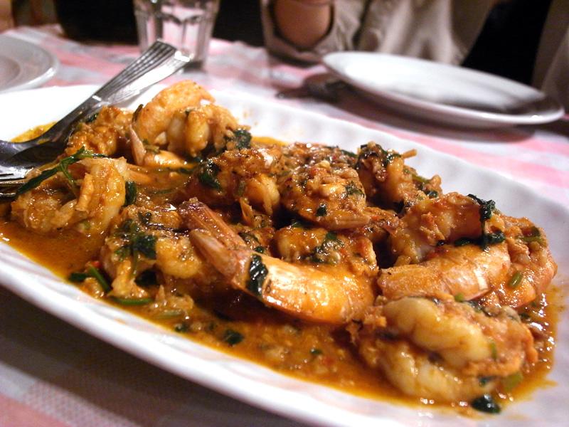 澳門 法蘭度餐廳 蜆汁蝦