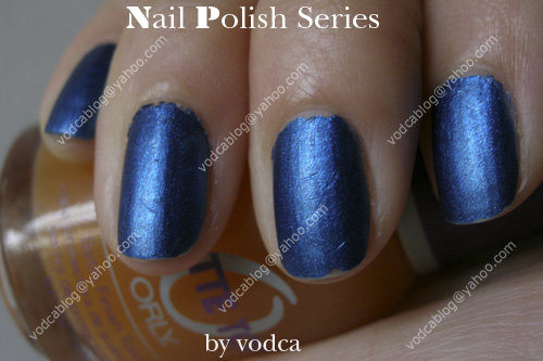 NPS 31 Orly Matte Top Topcoat for Nail เล็บสีน้ำเงินไฮ ซ