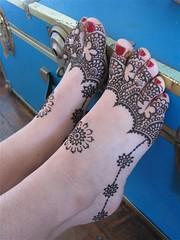 eugenia's feet (HennaLounge) Tags: new eve india fetish foot toes mandala pedicure years henna mehndi