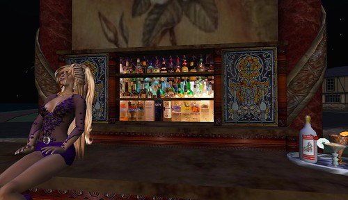 the majestic bar area in second life