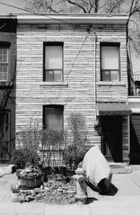 2 Crocker Ave - April 27, 2003 (collations) Tags: toronto ontario architecture blackwhite documentary vernacular streetscapes builtenvironment urbanfabric crockerave