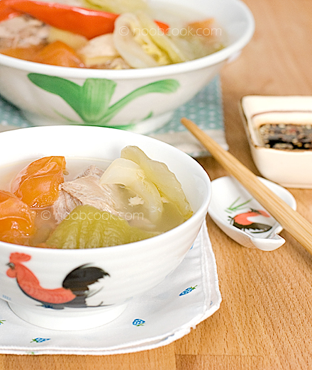 Salted Vegetables and Duck Soup 咸菜鸭肉汤