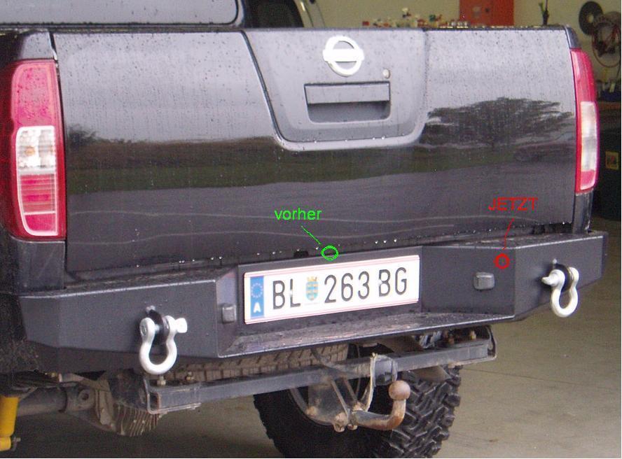 Einbau Einer Rückfahrkamera In Nissan NAVARA - Wo, Wie, ... - Pickup ...