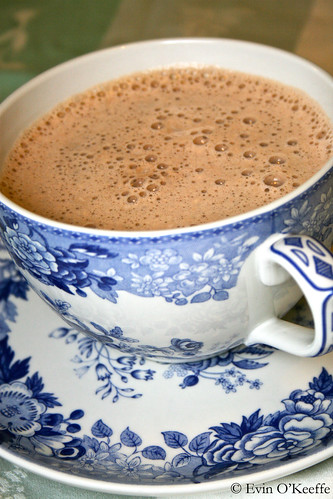 Delicate China Cup, Big Hot Chocolate