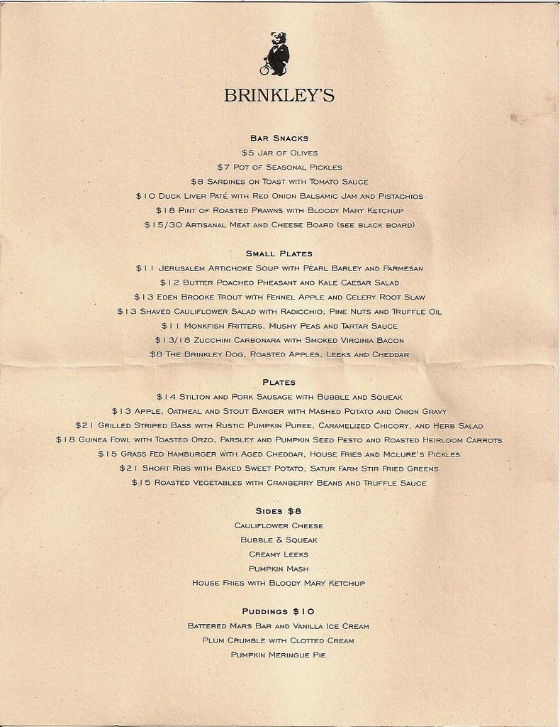 brinkleys-menu