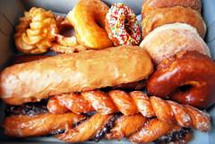 mmmm donuts (sevenworlds16) Tags: ca man shop tiger tail donuts donut glendora