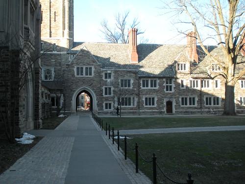 Princeton University campus view #5