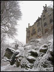 Burg Bentheim (Marcel van Gunst) Tags: schnee winter snow tree mas marcel marcelvangunst vangunst sneeuw boom schloss januari burg badbentheim 2010 kasteel bentheim januari2010