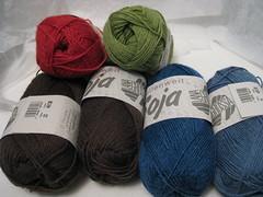 Soja sock yarn for my New Sock Project!