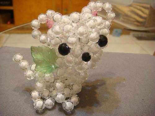 我的串珠作品-天使吉娃娃