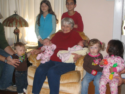 Great-Grandmother with grandkids by dollye_plagge