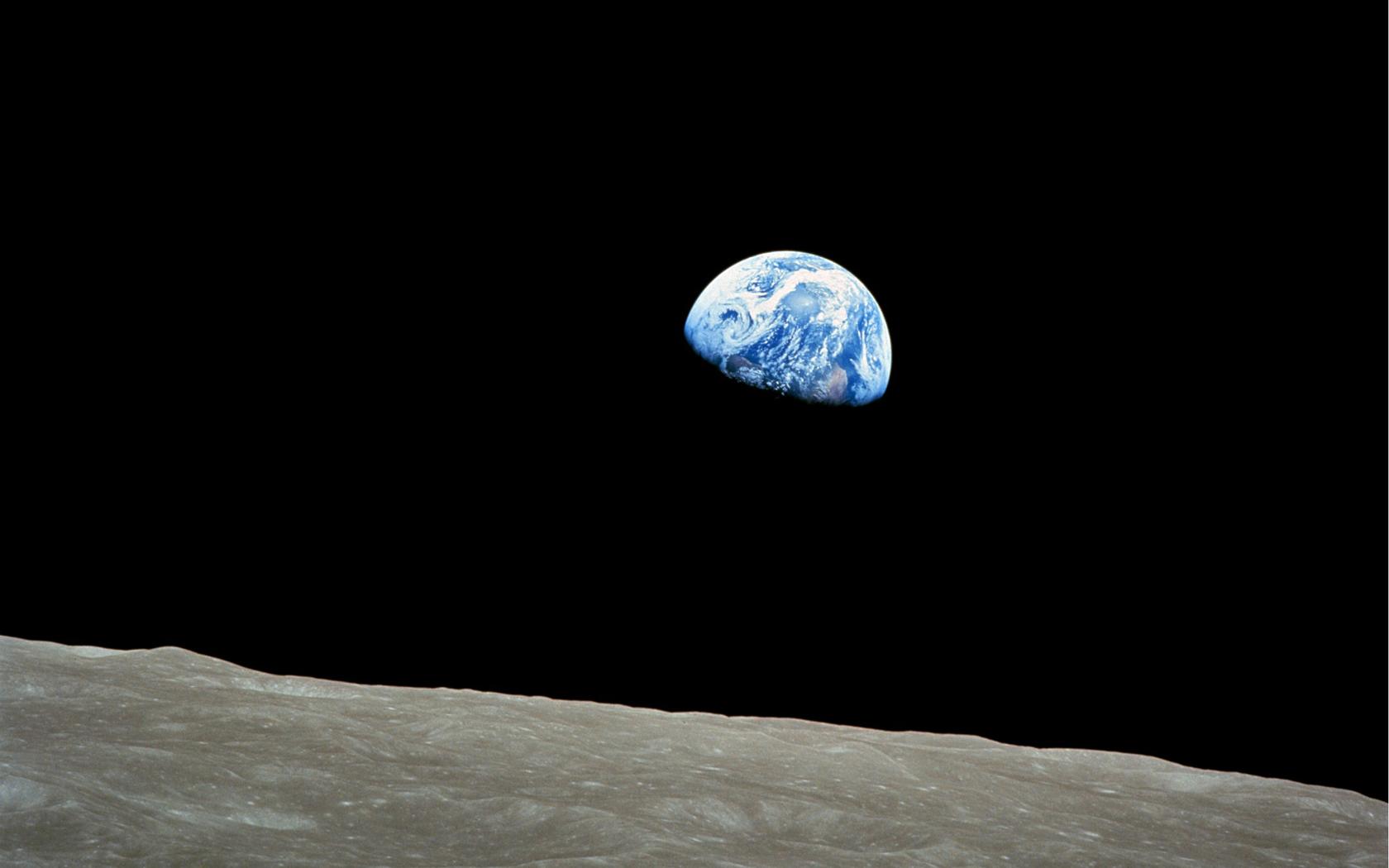 nasa earthrise 1968 - photo #2