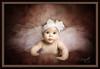 Pink Tutu Vision (FLPhotonut) Tags: pink portrait baby texture blueeyes 5months bow tutu homestudio canon50d flphotonut interfit150mkii