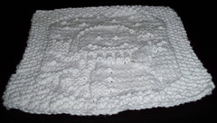 Snowbaby washcloth
