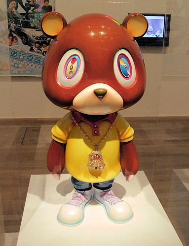 Kanye Bear, Pop Life Exhibition, Tate Modern, London.