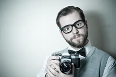 52 (AMooseinBrighton) Tags: camera uk portrait selfportrait man male