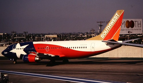 Southwest Boeing 737-300 picture by Flickr User Deanster1983