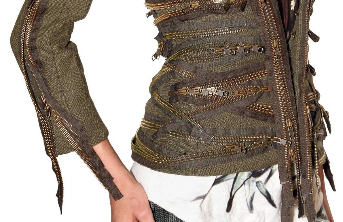Balmain SS2010 zipper jacket 2 4