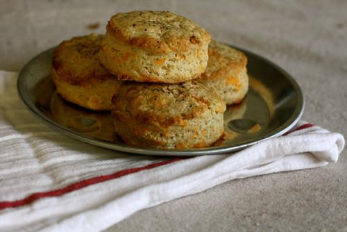 Cheddar Black Pepper Biscuits