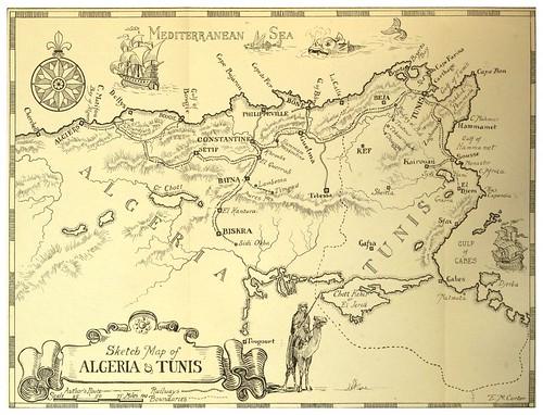 000-Mapa de Argelia y Túnez-Algeria and Tunis (1906)-Frances E. Nesbitt