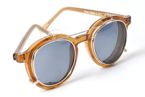 Spitfire frames with clip ons at OAK Nyc 1c