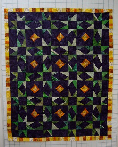 the front of my quilt: done!