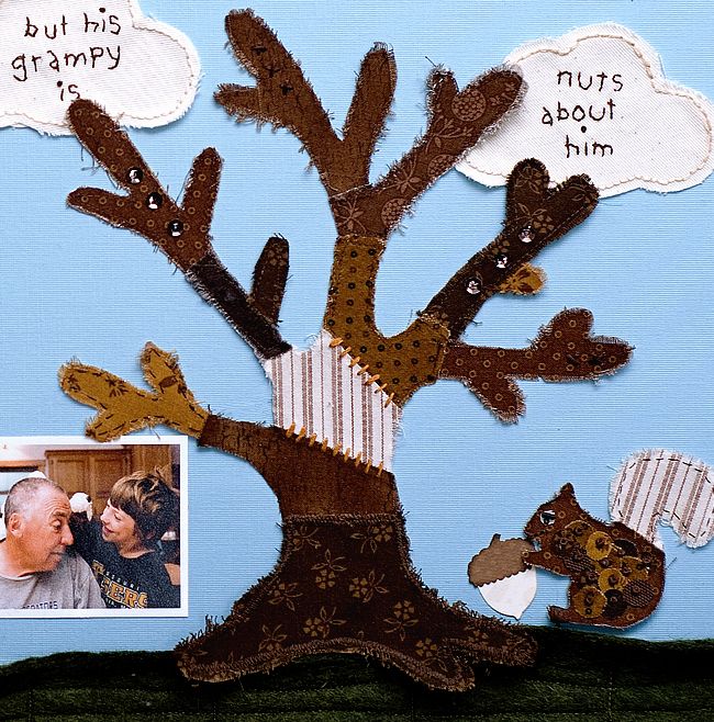 squirrely layout tree for blog