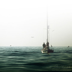 breathless () Tags: ocean sea andy water fog sailboat haze mediterranean mediterraneo barca mare waves sailing andrea andrew calm serenity sail vela nebbia acqua calma oceano onde foschia benedetti 55200mm serenit veleggiare nikond90