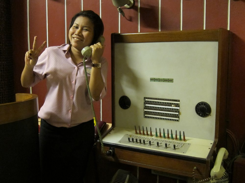 Working Phone Switchboard