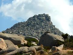Sur la crête de Prunu : vue vers la Punta di A Bambiola