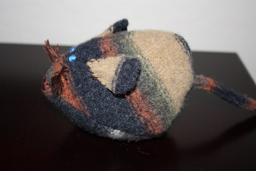 Alex's felted mouse