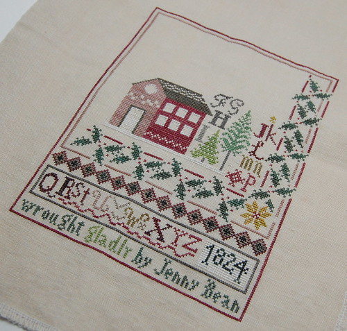 Jenny Bean's Christmas Sampler