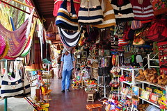 Nicaragua, Masaya, Mercado viejo