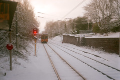 South Gosforth (boscoppa) Tags: uk snow film newcastle fuji fujifilm tyneside reala 620 tyneandwear northeastengland