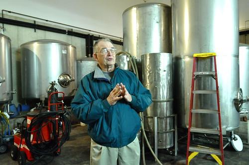 Darvin Levengood of Manatawny Creek Winery