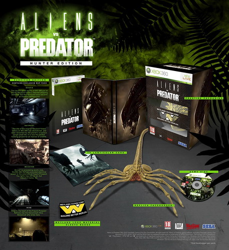 Aliens vs predator hunter edition - xbox-360