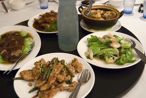 meals on offer
