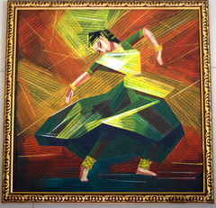Paintings from Chitra Santhe - Kathak