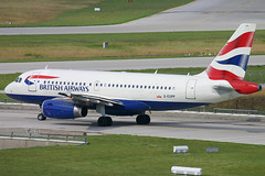 British Airways - G-EUPP (Andrew_Simpson) Tags: germany munich airbus ba muc britishairways a319 319 oneworld munichairport a319100 oneworldalliance geupp davwu