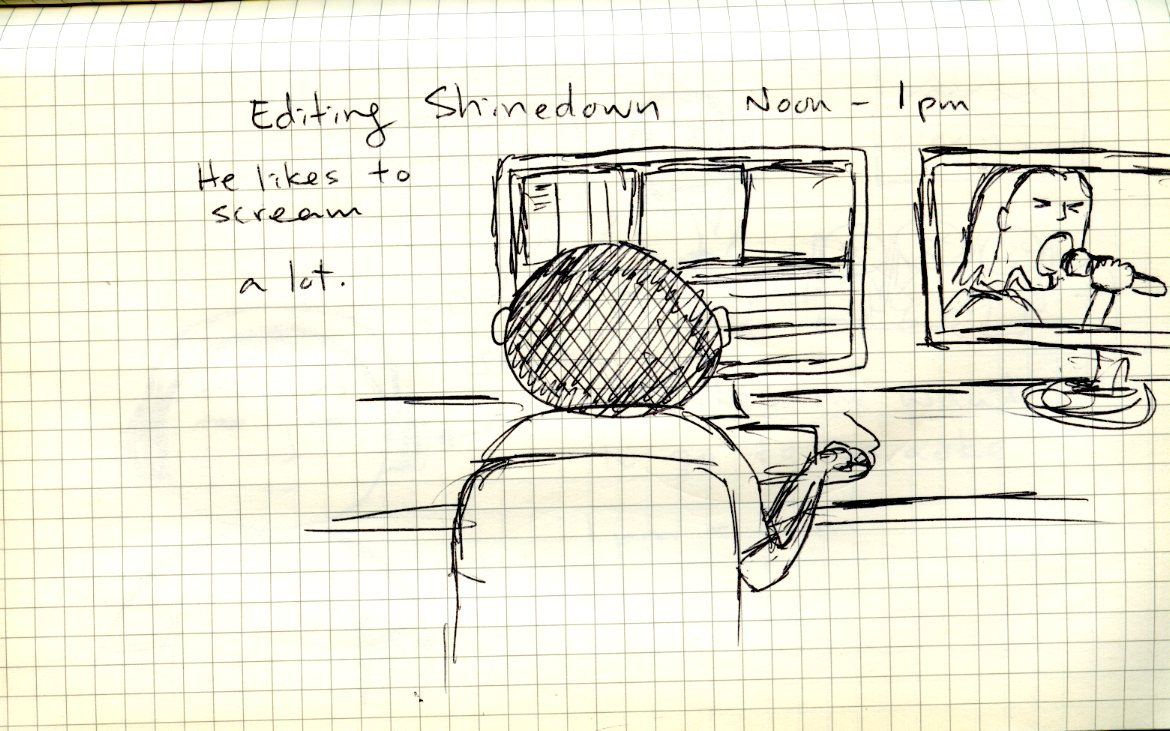 Noon - 1pm Hourly Comic