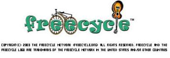 Eu faço parte do FreeCycle - trocas e dádivas