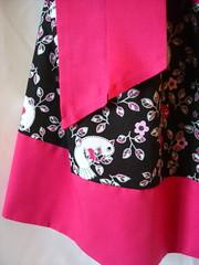 Beautiful Custom Handmade Hot Pink and Block Pillow Case Dress (Dixie Quilts) Tags: girl modern children clothing soft pretty dress cotton summerdress hotpink pillowcasedress hotpinkandblack
