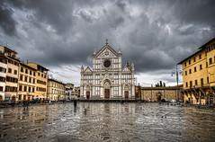 Florence, Italy (Mia Battaglia photography) Tags: church florence firenze santacroce santacrocechurch