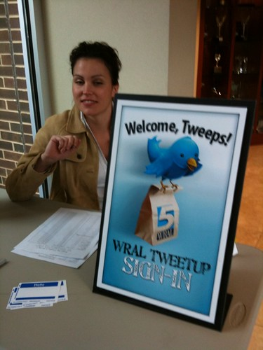 ((nogallery)) photos from @WRAL tweetup #wraltweetup