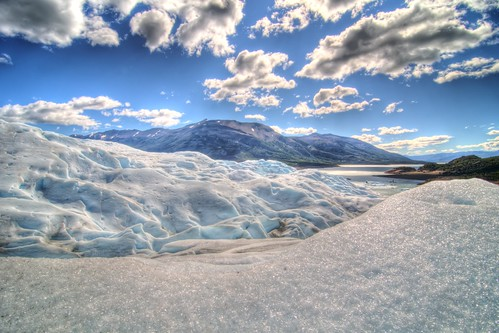 Atop Perito Moreno Glacier