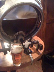 Glass 'head' firkin (01)