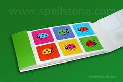 Bug' Stickers (Spellstone) Tags: stickers moo ladybird ladybug spotthebug spellstone