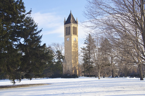The Campanile at Iowa State