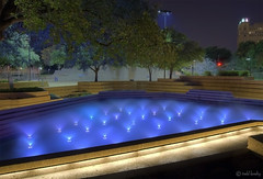 Fort Worth Water Garden (todd landry photography) Tags: water texas watergarden fountains hdr fortworth greatphotographers hdratnight hdraward