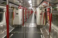 Hong Kong MTR (North Point to Lohas Park) (Daryl Chapman Photography) Tags: train canon underground subway hongkong empty sigma 7d mtr 1770mm tiukengleng tsuengkwanoline masstransitrailwaycorp